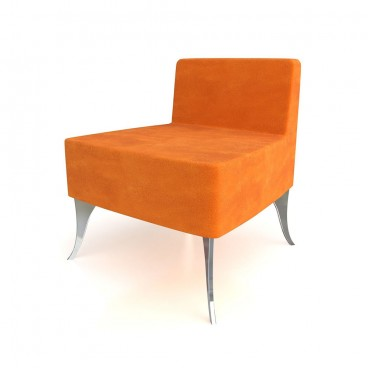 Orange Japan Lounge Chair