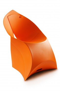 Orange Lux Chair