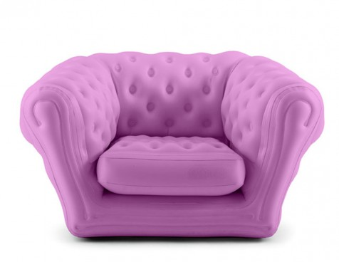 Pink Baby Blo Inflatable Armchair