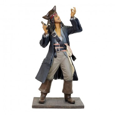 Pirate Jack Crow (Black Coat) Life Size