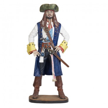 Pirate Jack Crow (Blue Coat) Life Size