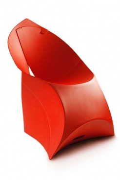 Red Lux Chair