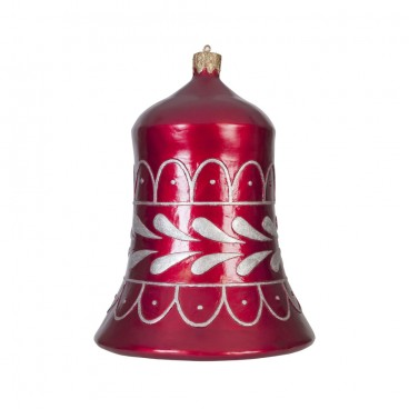 Red & Silver Christmas Bell