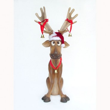 Reindeer Seated Facing Forward 990mm