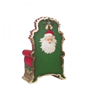 Santa Throne with face on back