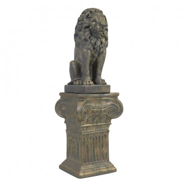 Seated Lion statue