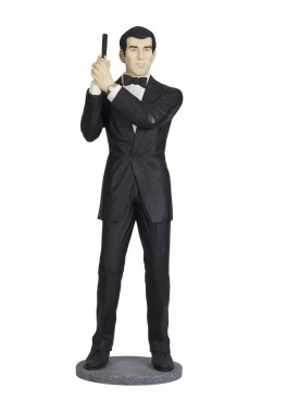 Secret Service Agent Life Size Figure