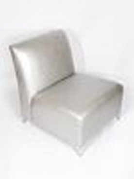 Silver Club Lounge chair