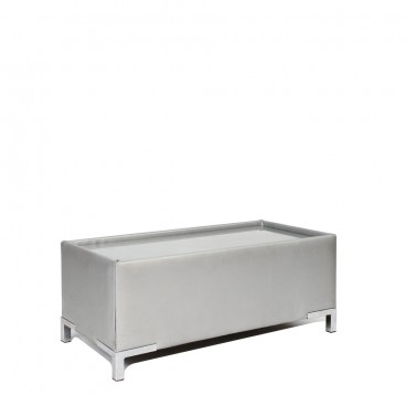 Silver Club Coffee Table