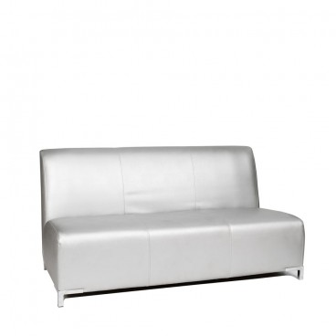 Silver Club Three Seater Sofa