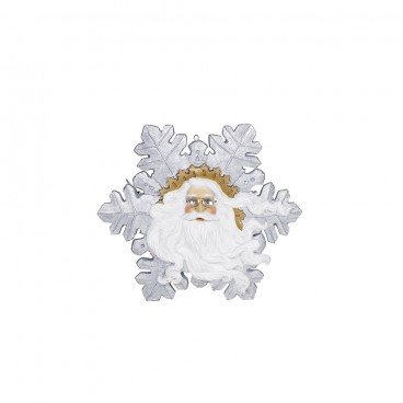 Snowflake with Santa's Face 900mm
