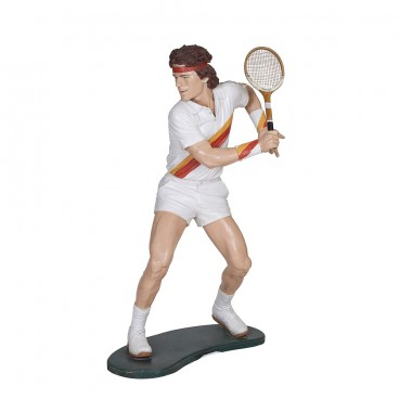 Tennis Player Life Size Figure