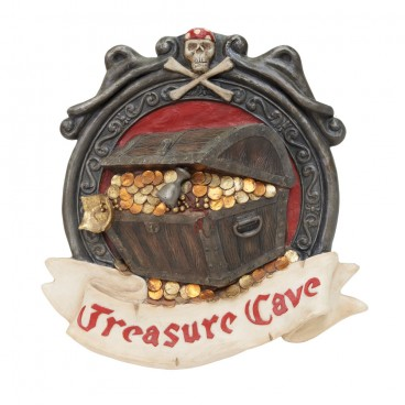 Treasure Cove Pirate Sign