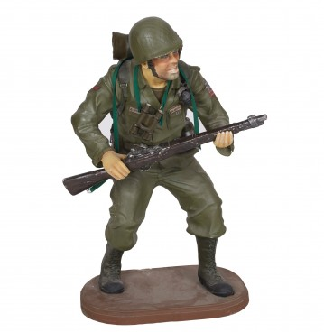 US Soldier Minature Figure