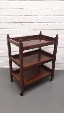 Vintage Wooden Tea Trolley
