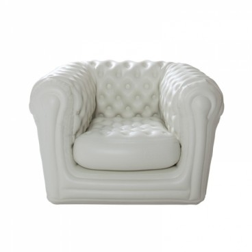 White Bigblo Inflatable Armchair