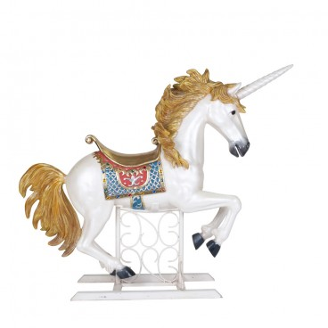 White Carousel Unicorn