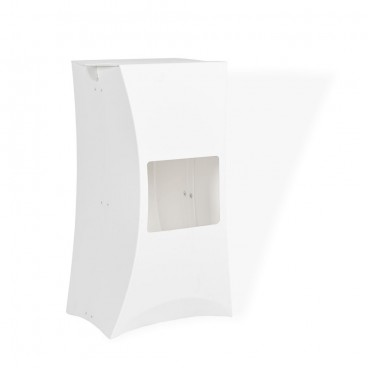 White Lux Bar Stool