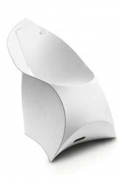 White Lux Chair