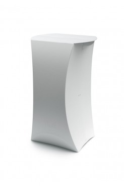White Lux Pod Table