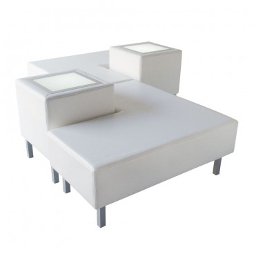 White Soho Combo 2 Sofa