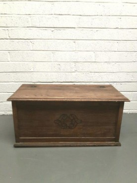 Wooden Blanket Box 420mm