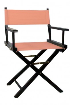 Directors Chair with Pink Canvas