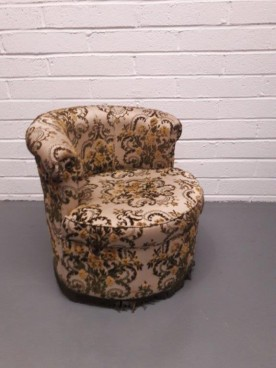Edwardian Low Round Chair