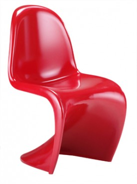 Red Panton S Chair