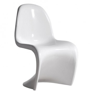White Panton S Chair Gloss