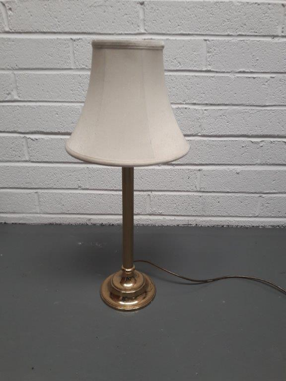 Vintage Brass Table Lamp