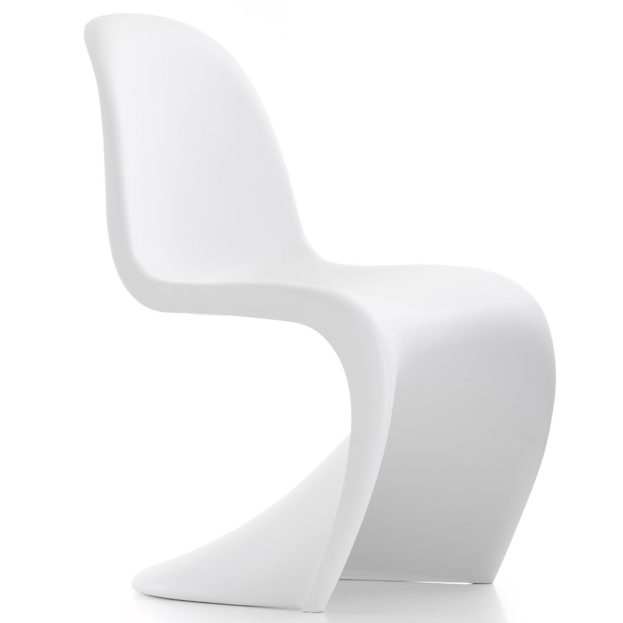 White Panton S Chair Matt