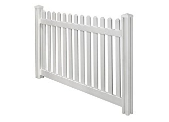 White Picket Fence 2m